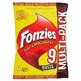 Fonzies Multipack Croccantini di Mais al Formaggio, 211.5g