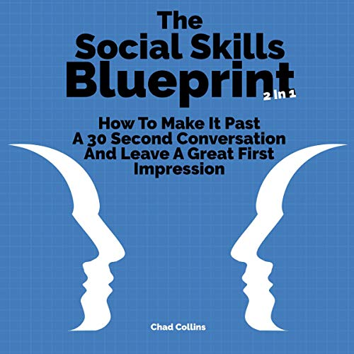 The Social Skills Blueprint 2 in 1 audiobook cover art