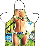Women Kitchen Sexy Funny Adult Bib Apron for Cooking BBQ Baking Grilling - Jungle Party Apron for Women Chef Comic Character Apron Party Cosplay Play Costume,Jungle Party Decoration