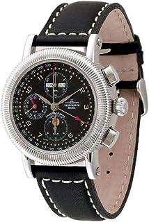 Zeno Watch Basel - Zeno-Watch 98081-c1 - Reloj de pulsera para hombre (cronógrafo, calendario completo)