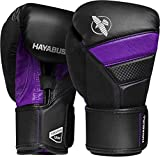 Hayabusa T3 Boxing Gloves - Black/Purple, 16oz