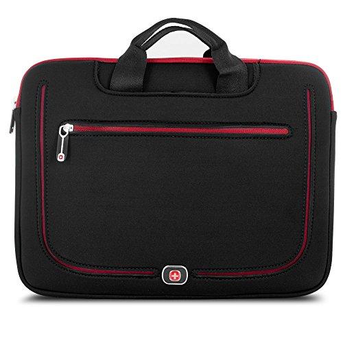 Wenger Auflösung, der Fall (Ärmel) für 38,1cm MacBook Pro–Schwarz/Rot