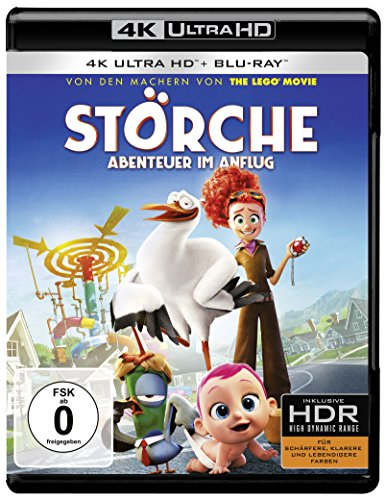 Störche – Abenteuer im Anflug (4K Ultra HD + 2D-Blu-ray) (2-Disc Version) [Blu-ray]