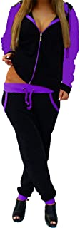 Sports Suits for Women Kstare Women's Sweatsuit Active Hoodie Tracksuit Outfit Sweatshirt and Sweatpants 2 Piece Sets
