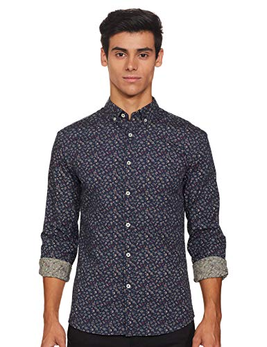 Celio PAWAFLOR - Hemd Slim aus gewaschener Baumwolle Herren