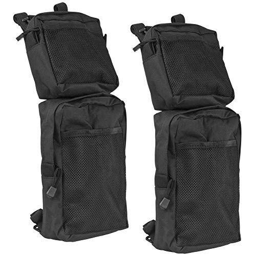 Everrich 2 Pack ATV Fender Bag, ATV Tank Saddlebags, Universal Rear Storage Bag for ATV Dirt Bike