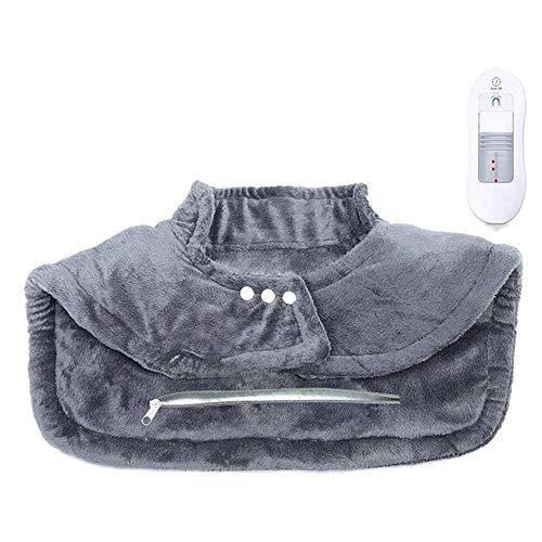 LMCLJJ Heizkissen for Rücken und Schultern Schmerzlinderung, Sable Heizung Wrap for Hals mit Auto-Abschaltung-3 Temperatureinstellungen