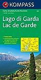 Carta stradale e panoramica n. 360. Lago di Garda-Lac de Garde 1:50.000. Ediz. bilingue