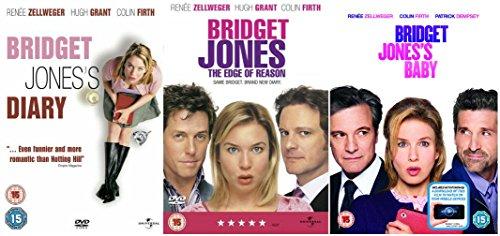 Bridget Jones Trilogy 3-Film Collection (Bridget Jones's Diary / Bridget Jones: The Edge Of Reason / Bridget Jones's Baby + Digital Download)