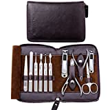 FAMILIFE L01 11 in 1 Stainless Steel Manicure Set with Box