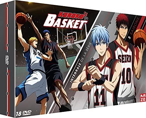 Kuroko's Basket-Intégrale Saisons 1, 2 & 3 DVD [Édition Limitée]