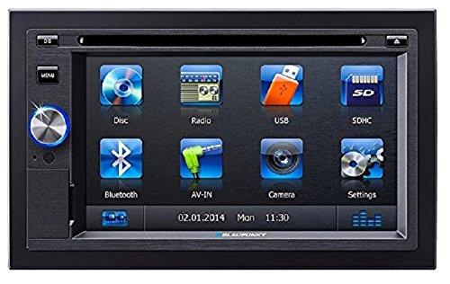 BLAUPUNKT San Diego 530 BT 2-DIN UKW/MP3/CD/DVD-Tuner 15,74cm 6,2 Zoll Display Front USB Fernbedienung
