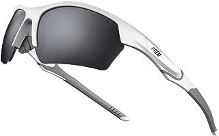 PREU Fashion Polarzied Sports Sunglasses for Women Men,Driving Running Cycling Golf Baseball Grasses(HN095)