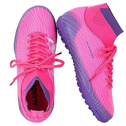 Little Kid//Big Kid ALEADER Boys Athletic Turf Indoor Soccer Shoes Football Boots
