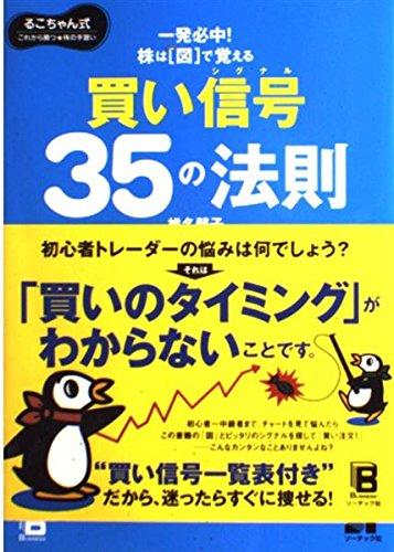 株は「図」で覚える 買い信号35の法則―るこちゃん式これから勝つ株の手習い