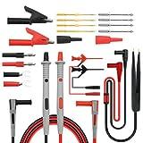 Kit de cables de prueba de multímetro 21 en 1 con pinzas de cocodrilo (1 set)