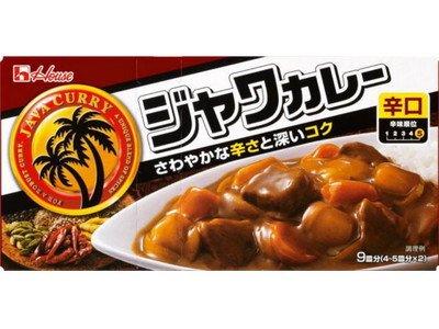 ハウス食品 ジャワカレー辛口185g ×60個
