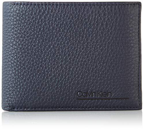 Calvin Klein Ck Bombe' 10cc + Coin - Portafogli Uomo, Blu (Blackwhite Navy), 1x1x1 cm (W x H L)