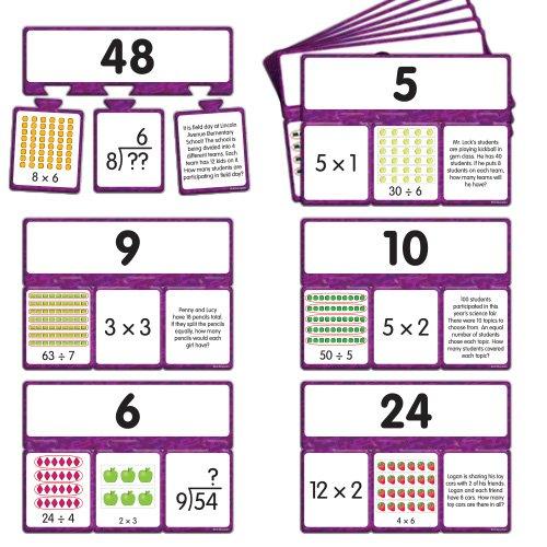 EAI Education Snap Math - Multiplication & Division Puzzle: Grades 3-4