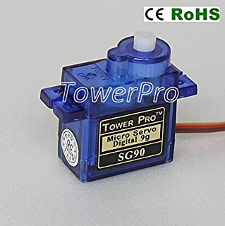 American Robotic Supply Authentic Tower Pro SG90 Digital Servo - 2 Pack