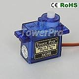 American Robotic Supply Tower Pro SG90 Digital Servo - 2 Pack