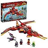 Ninjago Legacy Caza de Kai Set de Juego Jet con Figuras de Acción Nindroid, multicolor (Lego ES 71704)