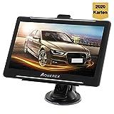 GPS Navi Aonerex Navigation 7 Zoll Touchscreen Navigationssystem Mehrsprachig Navigationsgerät für...