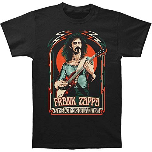 RWYZTX® Frank Zappa Illustration Classic Fitted Jersey T-Shirt