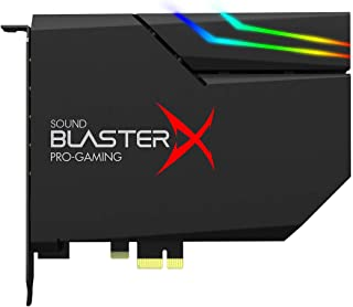 CREATIVE Sound Blaster PCIe Gaming Sound Card and DAC with Dolby Digital and DTS, Xamp Discrete Headphone Bi-amp, Up to 12...