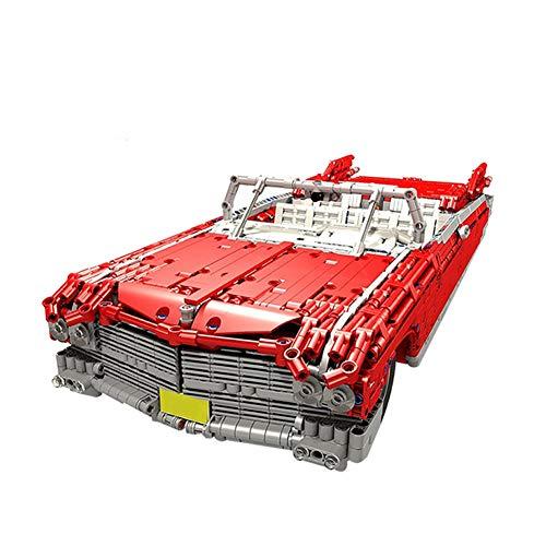 WDLY 3136 PCS Baustein Lepins Roadster Cadillac RC Auto, MOC-3078 Technic Super-Racing RC Car Kit, Modell Bausteine Kompatibel Mit Lego, Ziegel Spielzeug Für Erwachsene Oder Kinder,Dynamic Version