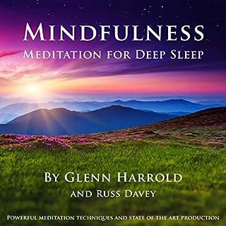 Mindfulness Meditation for Deep Sleep audiobook cover art