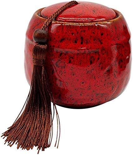 Urnas De Cremación Urnas para Perros Cenizas Urnas Decorativas Recuerdo Borla Simple Ataúd De Ceniza Animal A Prueba De Humedad Suministros Funerarios Caja Conmemorativa (Color C) (Color: Color C)