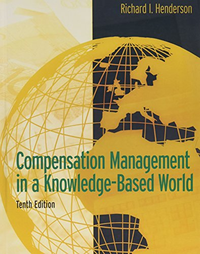 Compensation Management in a Knowledge-Based World (10th...
