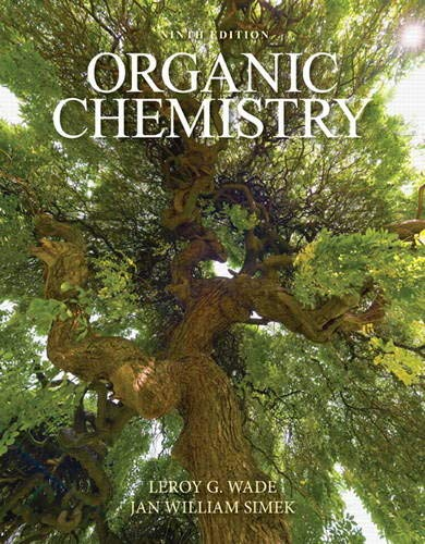Compare Textbook Prices for Organic Chemistry MasteringChemistry 9 Edition ISBN 9780321971371 by Wade, Leroy,Simek, Jan
