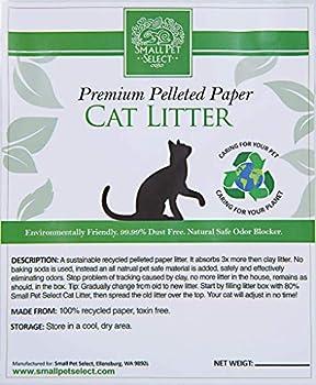 Little Pet Select-Litière pour chat en papier granulé recyclé, 50 lbs, gris