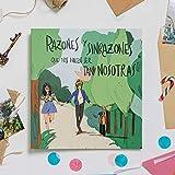 Recuerding - Álbum de Fotos para Chicas más Que Amigas, 70 Páginas (22x24cm) | para Parejas | Personalizable | Moderno y Original | Escribir y Pegar