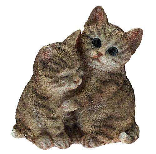 Chat Chats Amoureux h 21 Cm.