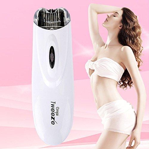 Tragbare Elektrische Pull Tweeze Gerät Frauen Haarentfernung Epilierer ABS Gesichtstrimmer Enthaarung Für Weibliche Schönheit