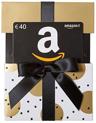 Buono Regalo Amazon.it - €40 (Busta di Natale d'Oro)