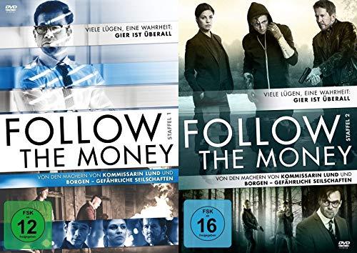 Follow the money - Staffel 1+2 im Set - Deutsche Originalware [8 DVDs]