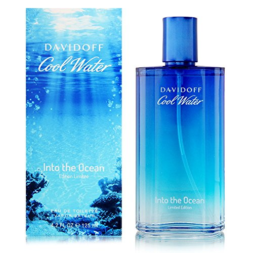 Davidoff Eau de Toilette Spray, Cool Water Into The Ocean, 4.2 fl oz.