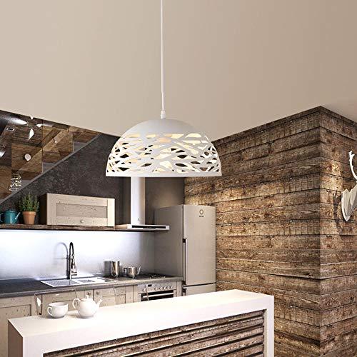 Hanglamp van ijzer, eenvoudig en creatief design, Scandinavische stijl, restaurant, café, ijzer