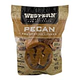 Western Premium BBQ Products Pecan BBQ Cooking Chunks, 570 cu in