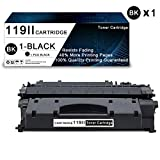 1 Pack Black 119II Compatible Toner Cartridge Replacement for Canon imageCLASS MF5880 MF5850dn MF5880dn Series MF5840dn MF5900 MF5940dn MF5980dw MF5950dw MF5960dn Printers Toner Cartridge.