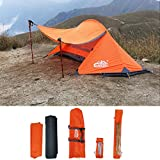 Best Four Season Tents - camppal Professional 1 Person Extreme Space Saving Single Review