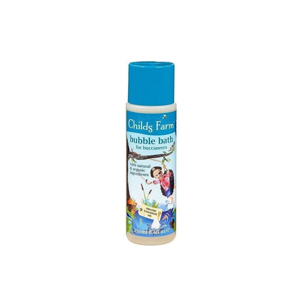 見る人時間告白Childs Farm Get Your Feet Wet! Bubble Bath for Bucanneers! (250ml) チャイルズファームは、あなたの足が濡れる! Bucanneersための泡風呂! ( 250ミリリットル) [並行輸入品]