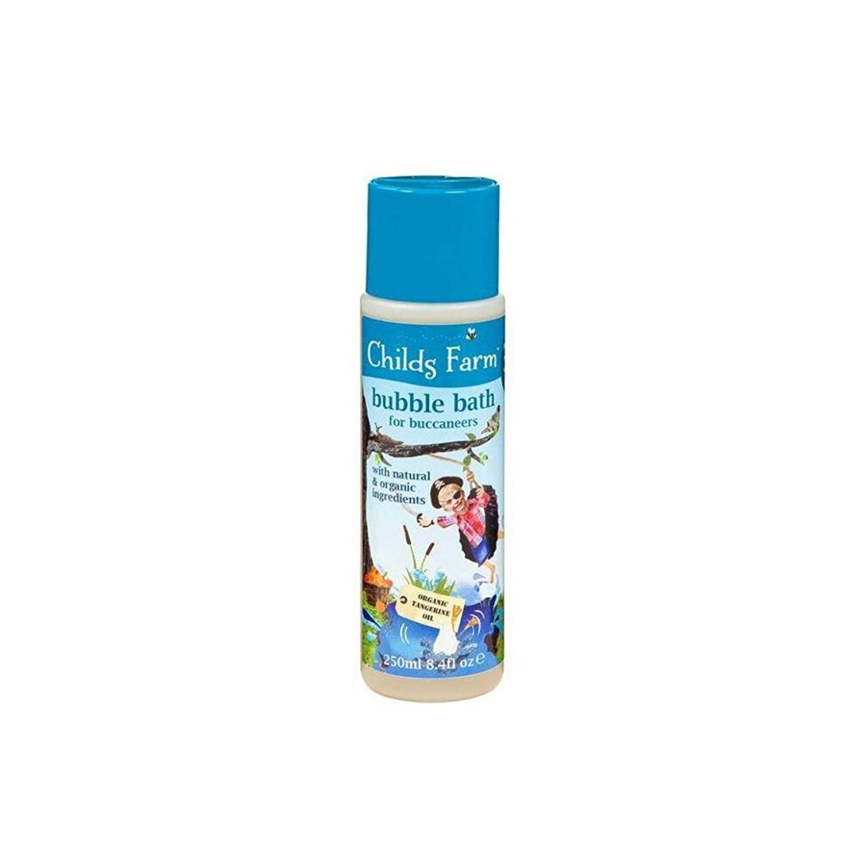 治安判事円周非効率的なChilds Farm Get Your Feet Wet! Bubble Bath for Bucanneers! (250ml) チャイルズファームは、あなたの足が濡れる! Bucanneersための泡風呂! ( 250ミリリットル) [並行輸入品]