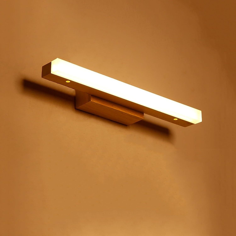 Massivholz, Spiegel Licht, LED Wall Washer, Spiegel Licht Cabinet Light, Badezimmer Einfache Kommode Wandleuchte, warmes Licht (Größe   40CM 6W)