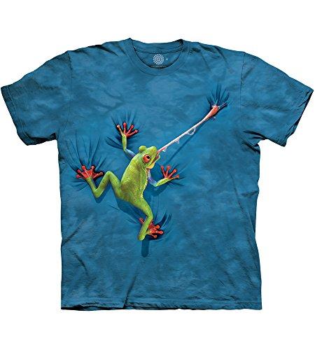The Mountain - T-shirt - Homme, blau, XX-Large