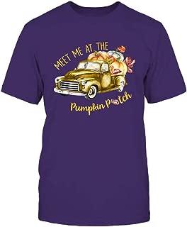 FanPrint LSU Tigers T-Shirt - Meet Me at The Pumpkin Patch - If32-Ic32-Ds45